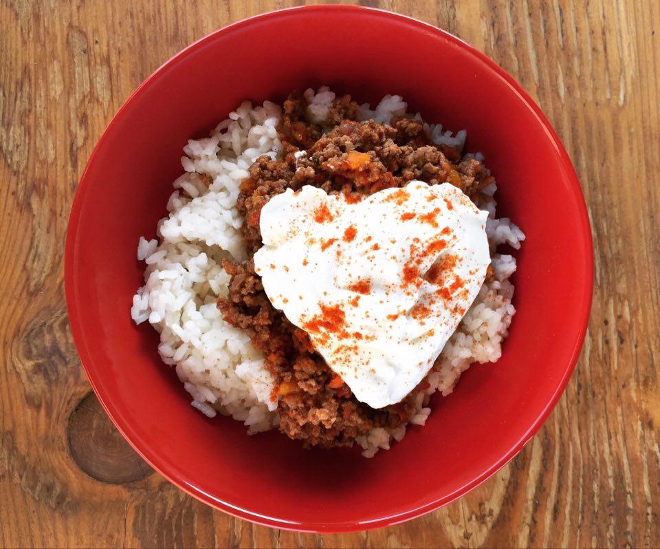 Ρύζι με κιμά