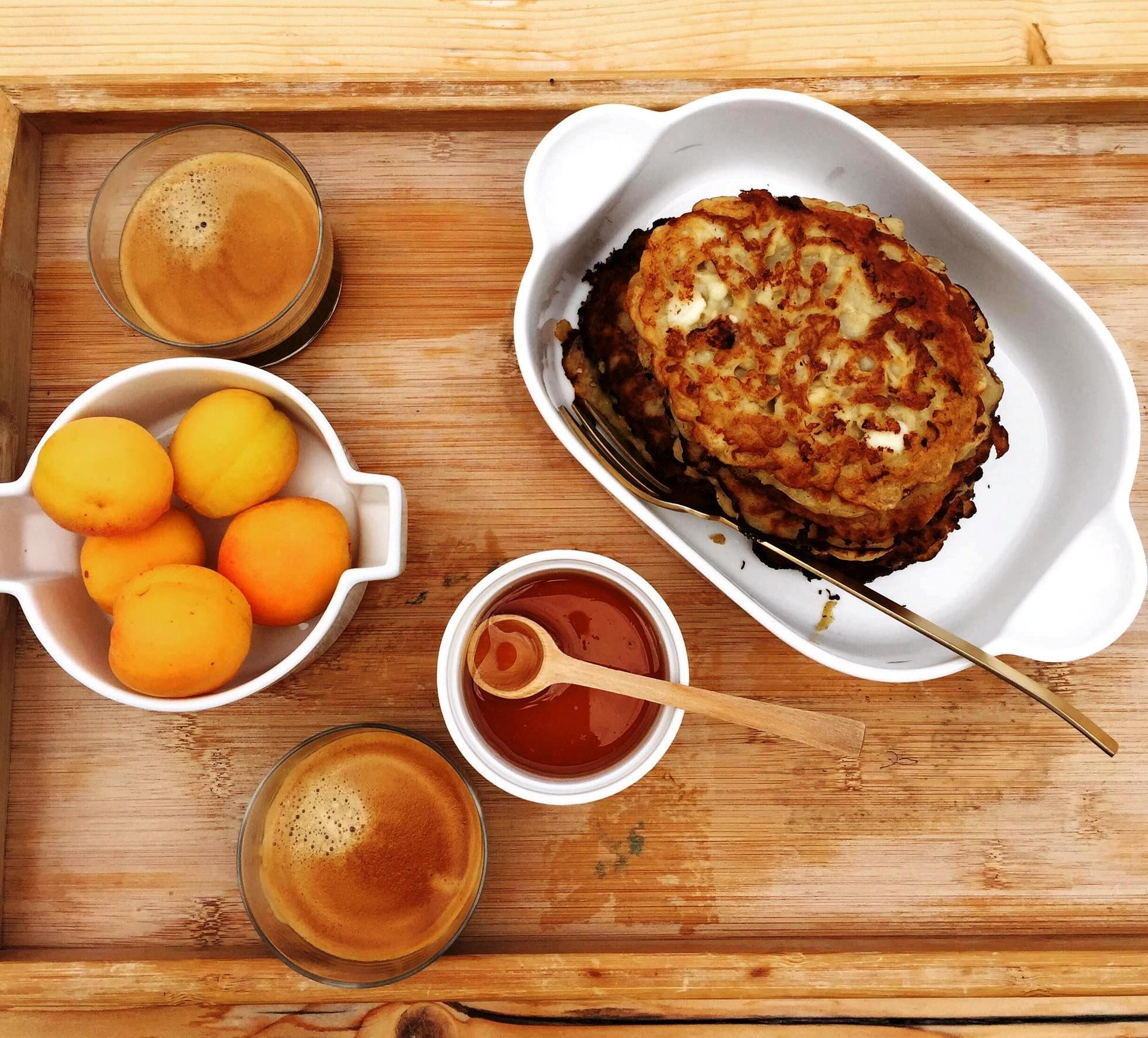 τηγανίτες για πρωινό